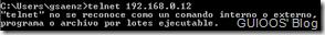 Telnet no disponible por default en Windows 7 y vista