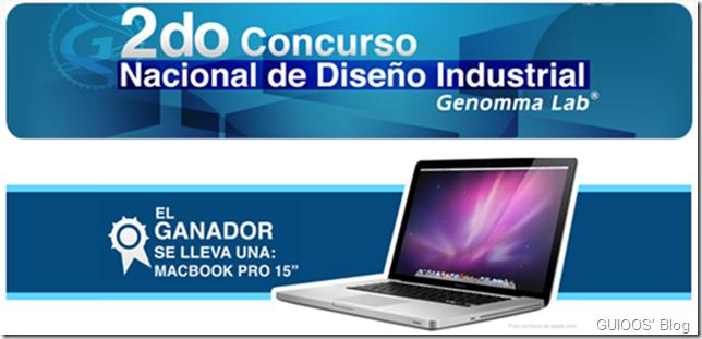 2do concurso nacional de diseño industrial de Genomma Lab Internacional