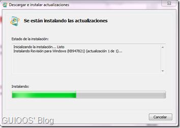 Instalación de actualizaciones con System Update Readiness