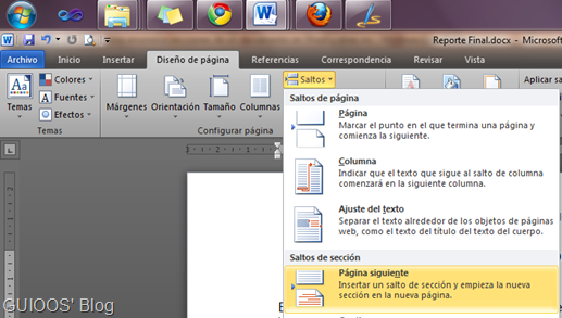 Cómo enumerar secciones de un documento en Word y otras no | GUIOOS ...